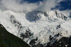 Glacier de montagne Photographie stock libre de droits