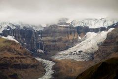 Glacier de Morsarjokull, Skaftafell NP, Islande Images libres de droits