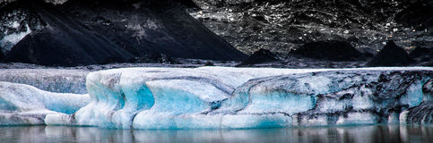 Glacier de Myrdalsjokull photo stock