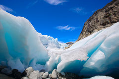 Glacier de Nigardsbreen Photo libre de droits