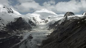 Glacier de Pasterze banque de vidéos