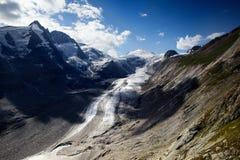 Glacier de Pasterze Image stock