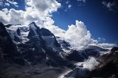 Glacier de Pasterze Images libres de droits