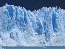 Glacier de Perito Morano en Argentine Photographie stock