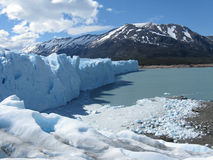 Glacier de Perito Moreno Photos stock