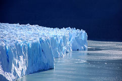 Glacier de Perito Moreno Photo stock