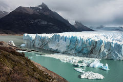 Glacier de Perito Moreno Images libres de droits