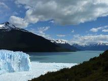 Glacier de Perito Moreno (Argentine) Photo stock