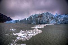 Glacier de Perito Moreno, Argentine Images stock
