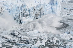 Glacier de Perito Moreno, EL Calafate, Argentine Photo libre de droits