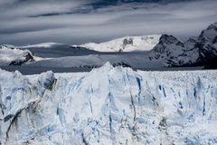 Glacier de Perito Moreno, EL Calafate, Argentine Photos libres de droits