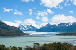 Glacier de Perito Moreno, Patagonia, Argentine Photos stock
