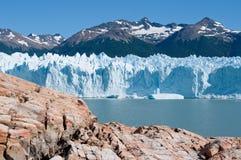 Glacier de Perito Moreno, Patagonia, Argentine Photo stock