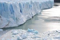 Glacier de Perito Moreno - Patagonia - l'Argentine Photos libres de droits