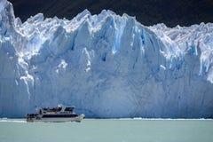 Glacier de Perito Moreno - Patagonia - l'Argentine Images libres de droits