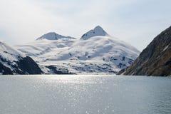 Glacier de Portage photo stock
