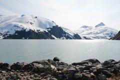 Glacier de Portage photo libre de droits