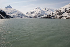 Glacier de Portage images stock