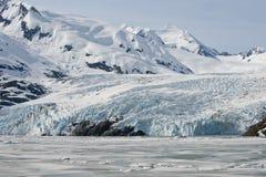 Glacier de Portage Images libres de droits