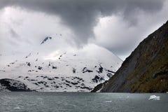 Glacier de Portage   photographie stock