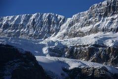 Glacier de rallonge coudée Photo stock