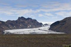 Glacier de rjökull de ¡ de Skeiðarà Images libres de droits
