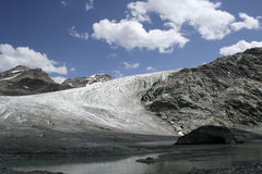 Glacier de Rutor images stock