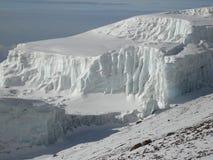 Glacier de sommet Photo stock