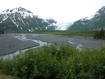 Glacier de sortie - Seward, Alaska Photo stock
