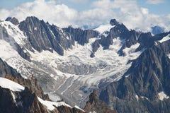 Glacier de Talefre Royalty Free Stock Image
