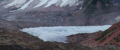 Glacier de tas au Thibet images libres de droits