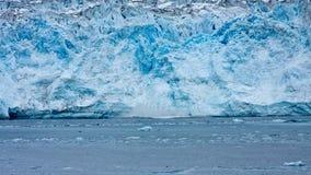 Glacier de vêlage Photos libres de droits