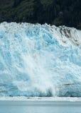 Glacier de vêlage Image libre de droits