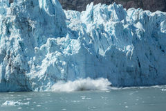 Glacier de vêlage Photo libre de droits