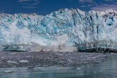 Glacier de vêlage Image stock