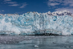 Glacier de vêlage Images stock