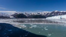 Glacier de vêlage Images libres de droits
