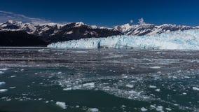 Glacier de vêlage Photo stock