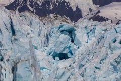 Glacier de vêlage Photographie stock libre de droits