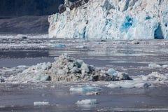 Glacier de vêlage Photographie stock