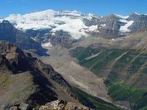 Glacier de Victoria Photographie stock libre de droits