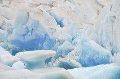 Glacier de Viedma Photographie stock libre de droits