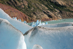 Glacier de Viedma Image libre de droits