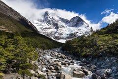 Glacier del Frances Image stock