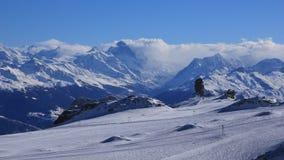 Glacier des Diablerets and Quille du Diable Royalty Free Stock Images