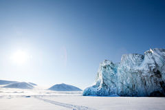 Glacier Detail Stock Image