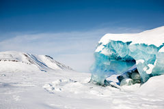 Glacier Detail Royalty Free Stock Photography