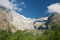 Glacier du Miage - Mont Blanc Royalty Free Stock Photography