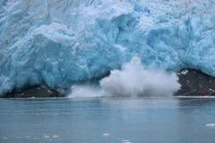 Glacier du nord-ouest de vêlage Photographie stock libre de droits