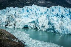 Glacier at el calafate Argentina Stock Image